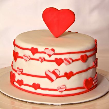 Love Cake For Valentine